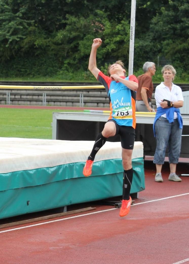 Maximilian Kaiser mit neuer Bestleistung im Hochsprung: 1,48m