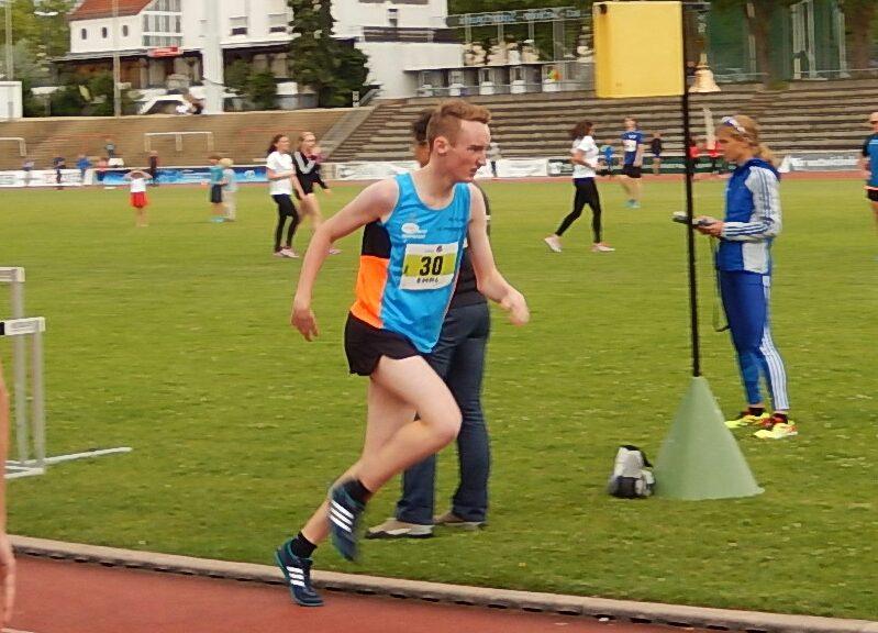 Maximilian Klink mit starker Leistung in Wiesbaden