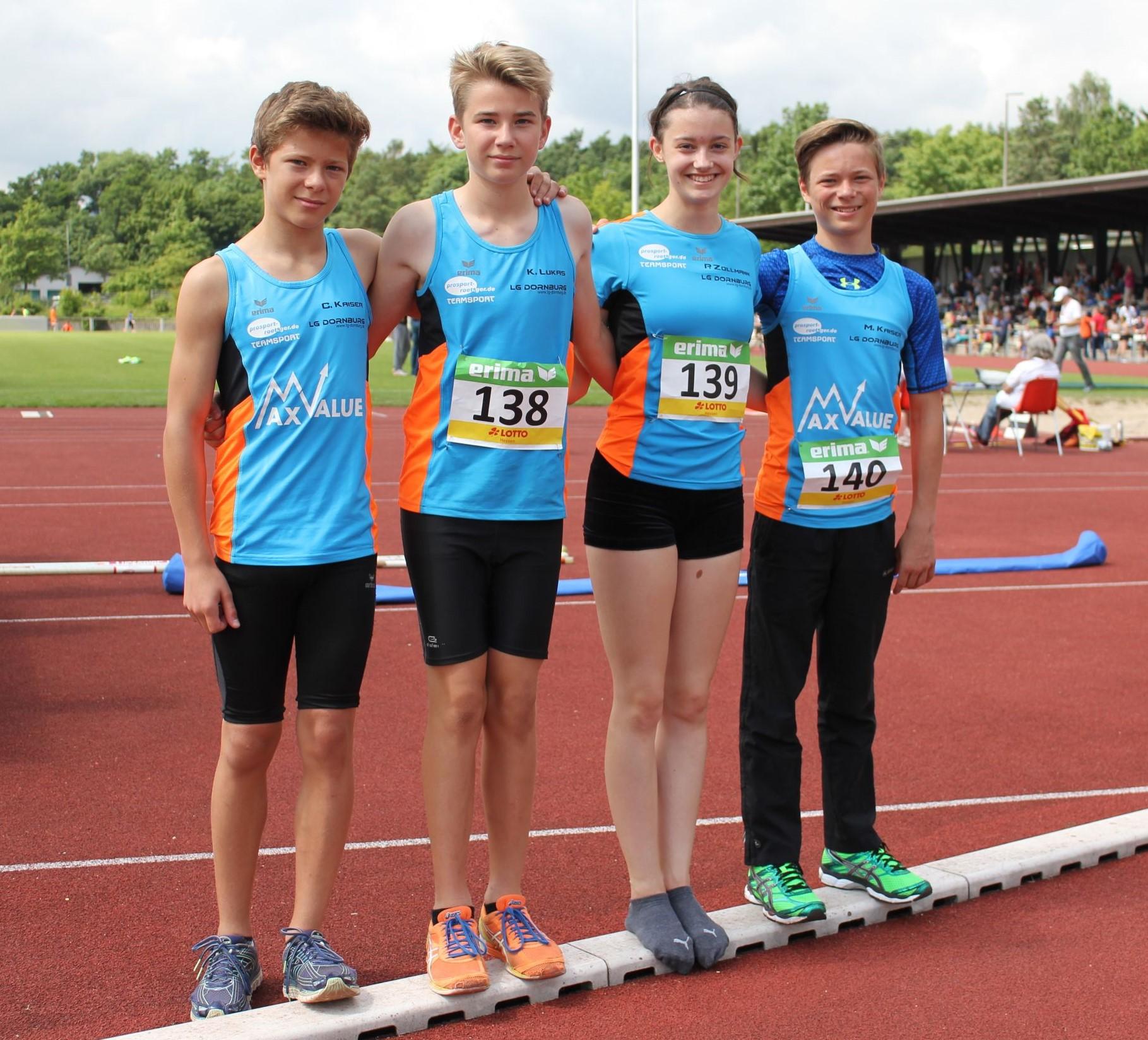 Erfolgreiche Teilnehmer an den Hessenmeisterschaften in Bad Honburg